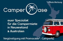 Rabatt Wohnmobil mieten in Australien bei Camperoase