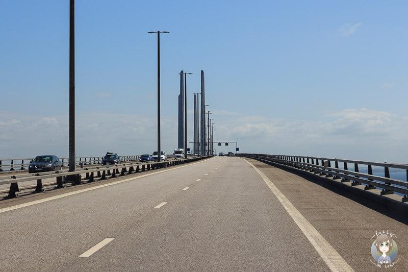 Rampenbrücke über den Öresund