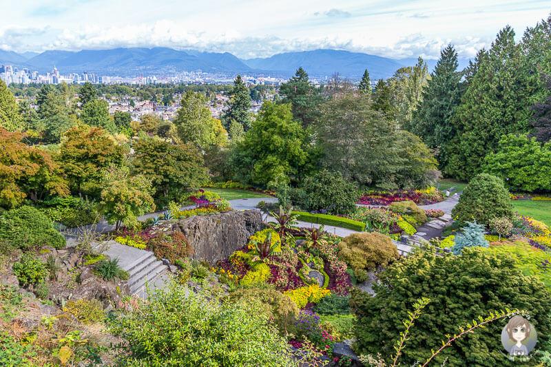 Der sehenswerte Queen Elizabeth Park ist einer der Vancouver Sehenswuerdigkeiten