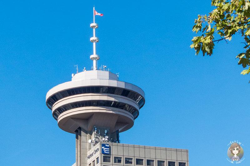 Der Aussichtsturm ist einer der Vancouver Sehenswuerdigkeiten