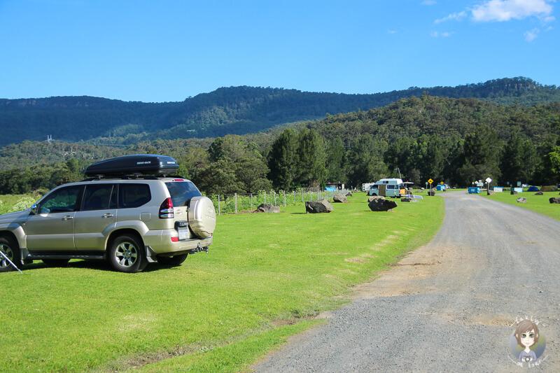 Bendeela Recreation Area, Kangaroo Valley, Australien