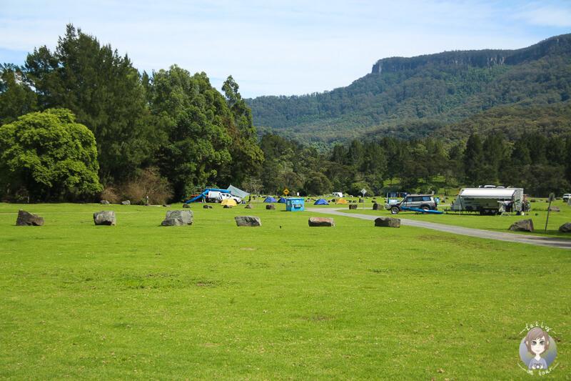 Campground Bendeela Recreation Area, NSW