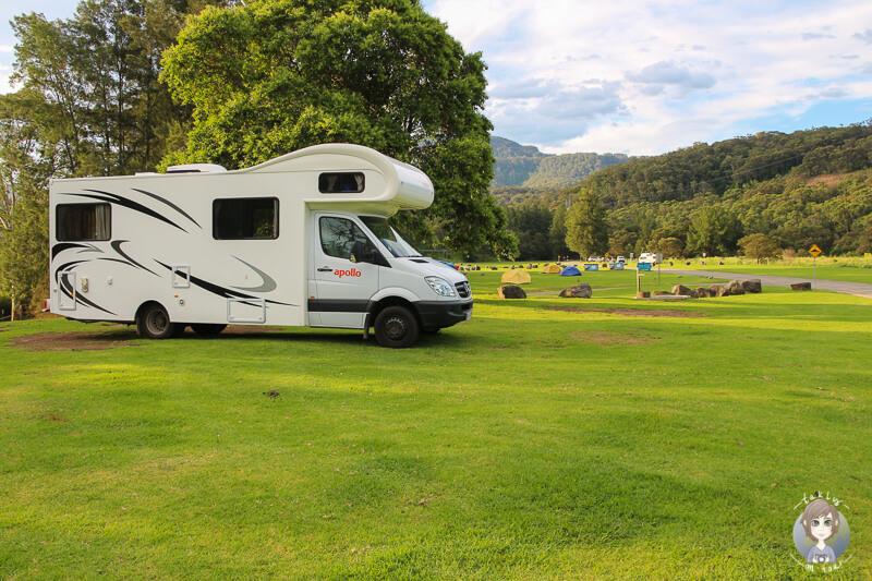 Camping Bendeela Recreation Area, Australien