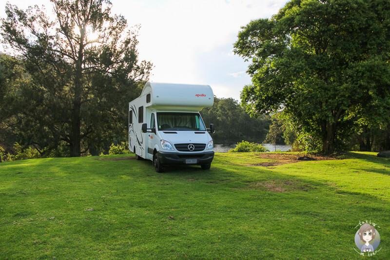 Camping im Kangaroo Valley, NSW, Austrlaien
