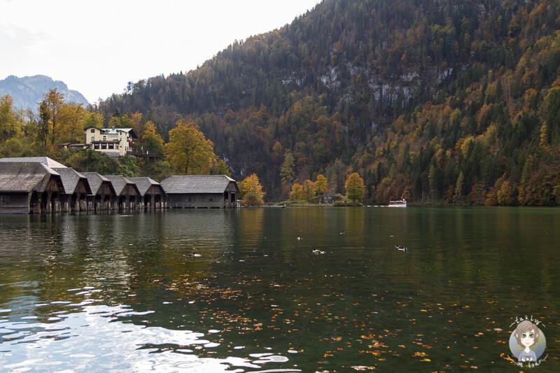 Der Königssee in Bayern
