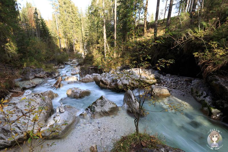 Die Ramsauer Ache im Nationalpark Berchtesgaden