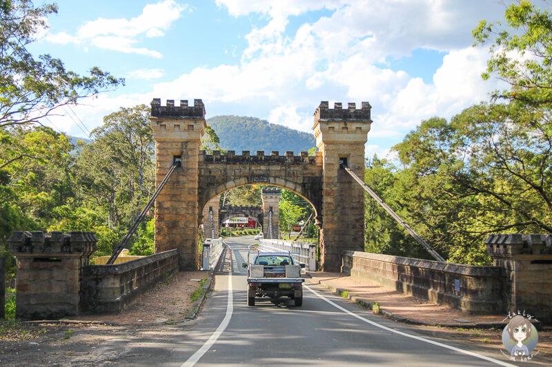 Hampden Bridge im Kangaroo Valley, NSW, Australien