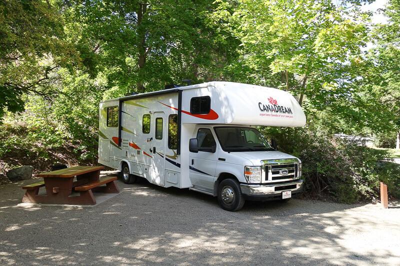 Das Wohnmobil von CanaDream in Kanada (c)Hajo S.