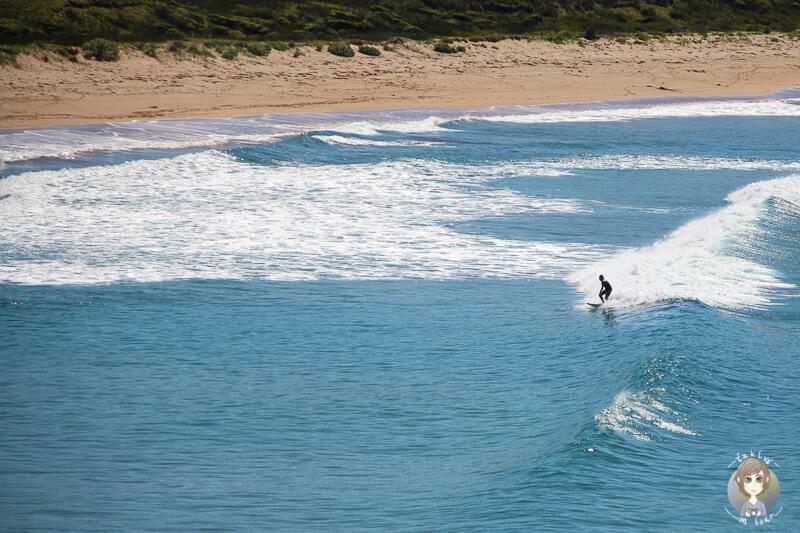 Surfer in Australien, NSW Tomakin
