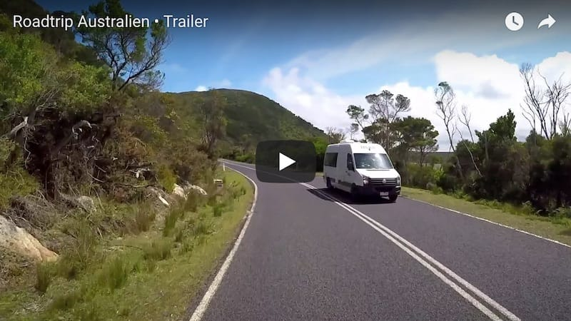 Youtube Video Australien Roadtrip