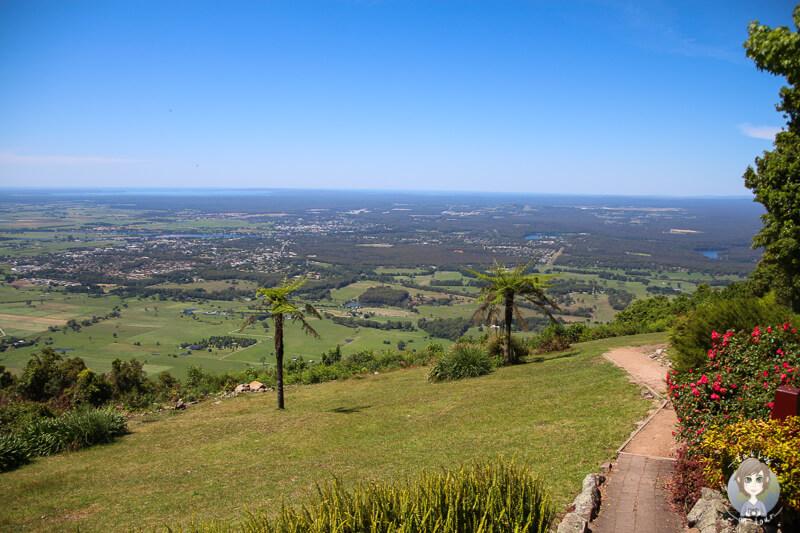 Aussicht vom Cambewarra Mountain Lookout