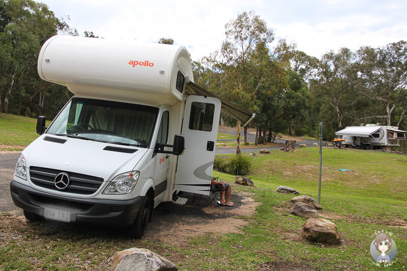 Camping im Blue Mountains National Park