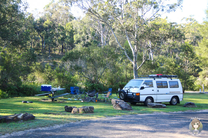 Camping kostenlos Blue Mountains National Park