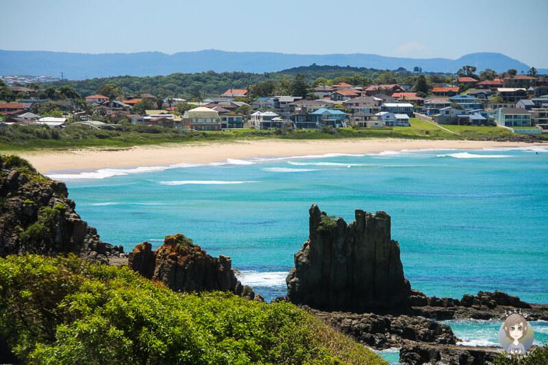 Cathedral Rocks in Kiama, NSW