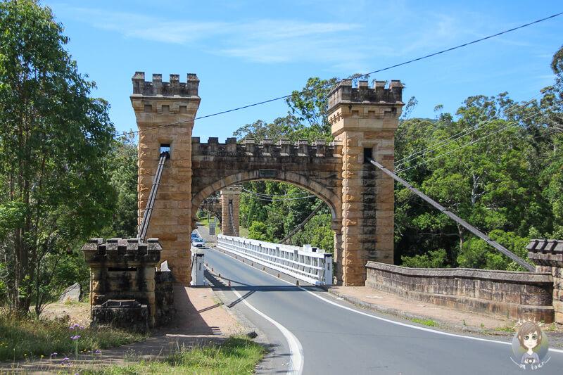 Die Hampden Bridge in Kangaroo Valley, New South Wales