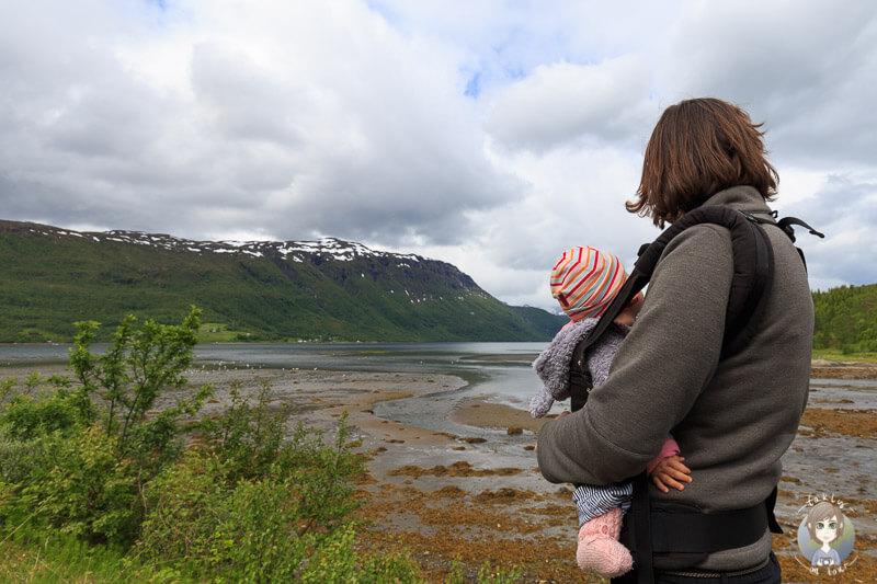 Wanderung mit einem Baby