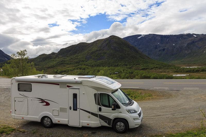 Mit dem gemieteten Camper in Europa