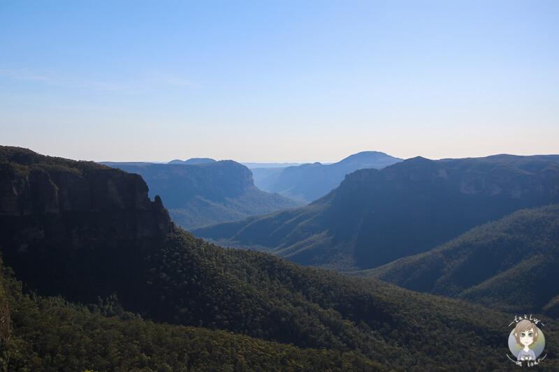 Aussicht Blue Mountains National Park