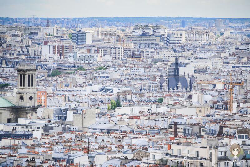 Aussicht Montmartre Paris