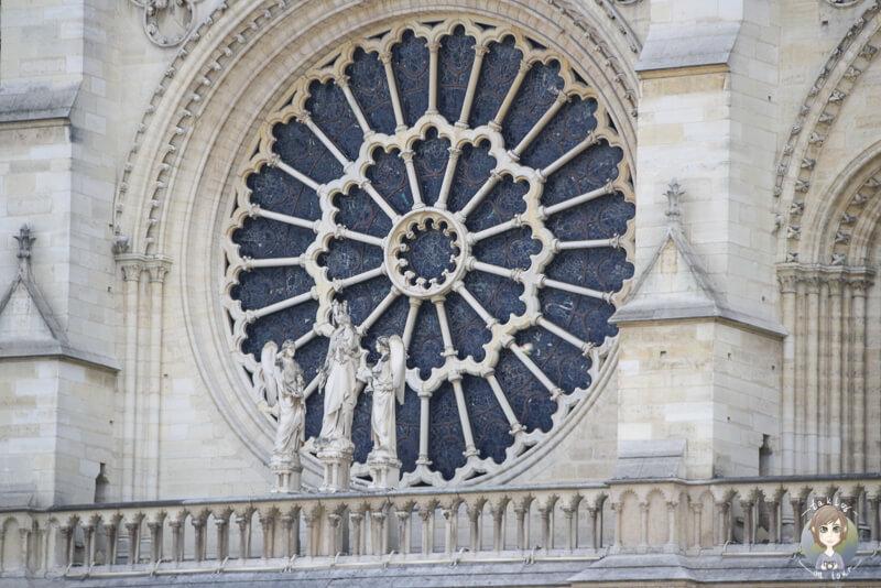 Fenster Notre Dame Paris