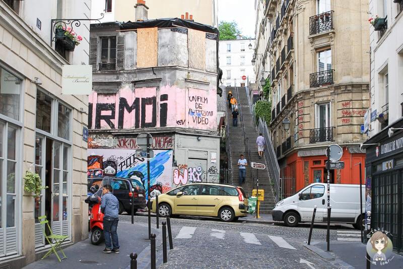 Kuenstlerviertel Montmartre Paris