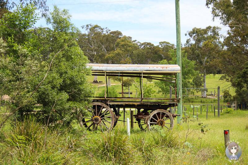 Landwirtschaft Megalong Valley Australien