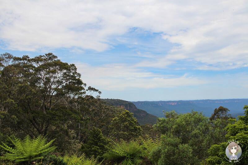 Sicht Blue Mountains