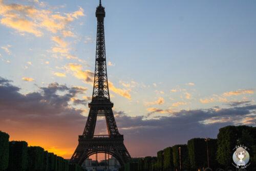 Stadtrundgang durch Paris mit Ende bei Sonnenuntergang am Eiffelturm