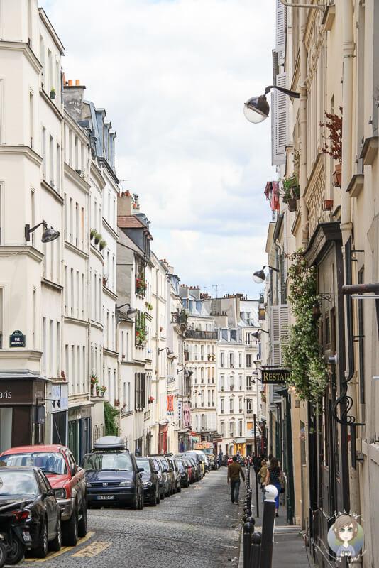 Strassenzug Paris