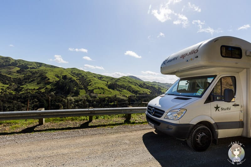 Ein günstiger Camper in Neuseeland, dank unserer Tipps zum Wohnmobil mieten in Neuseeland