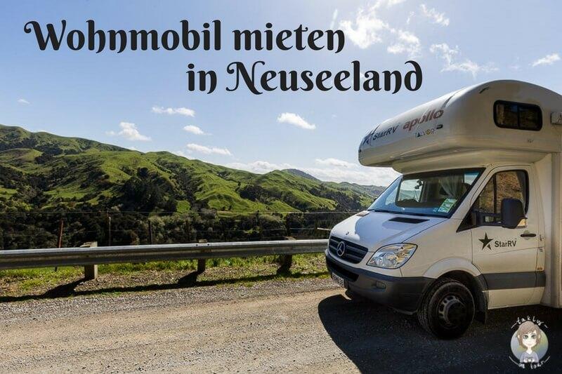 Mit dem Wohnmobil in Neuseeland, was gibt es beim Camper mieten in Neuseeland zu beachten