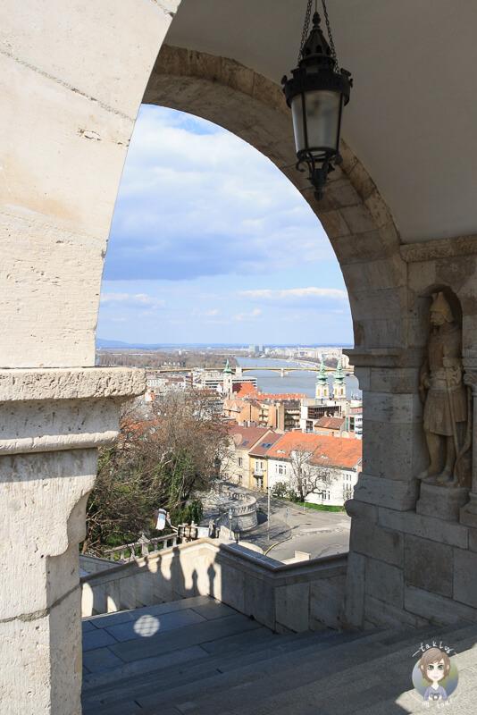 Aussicht Buda Burgberg Budapest
