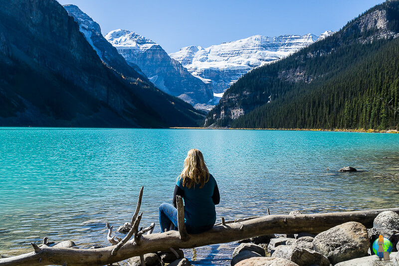 Frau-alleine-Kanada-Lake-Louise