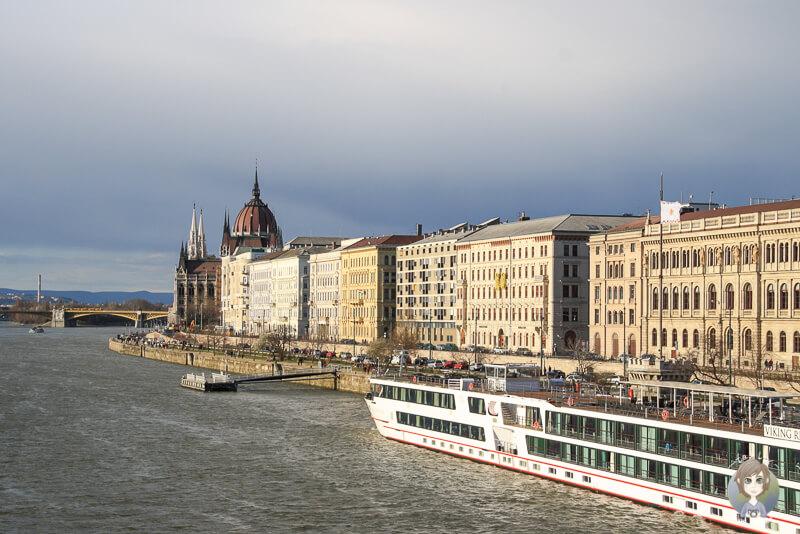 Haeuser Pest Budapest