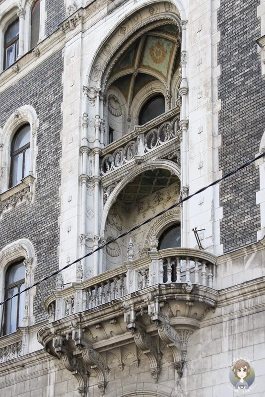 Hausfassade-Pest-Budapest