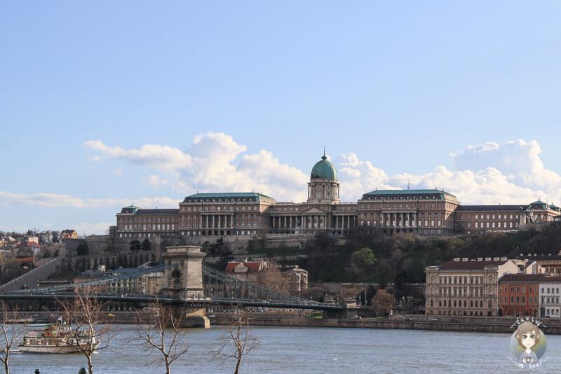 Die koenigliche Burg von Budapest