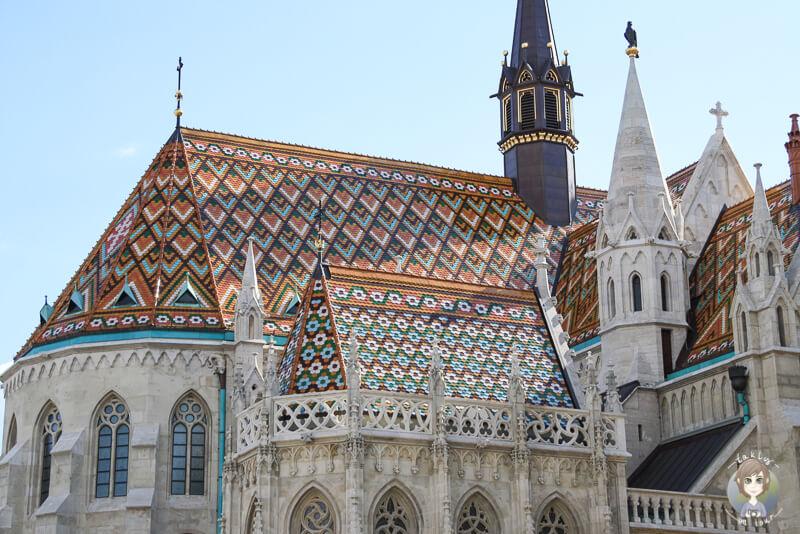 Die Matthiaskirche an der Fischerbastei ist fuer mich die sehenswerteste Budapest Sehenswuerdigkeit