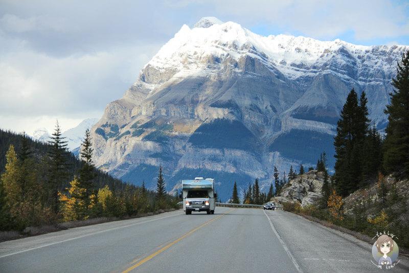 Mit dem Wohnmobil über den Icefields Parkway, Kanada Reisen