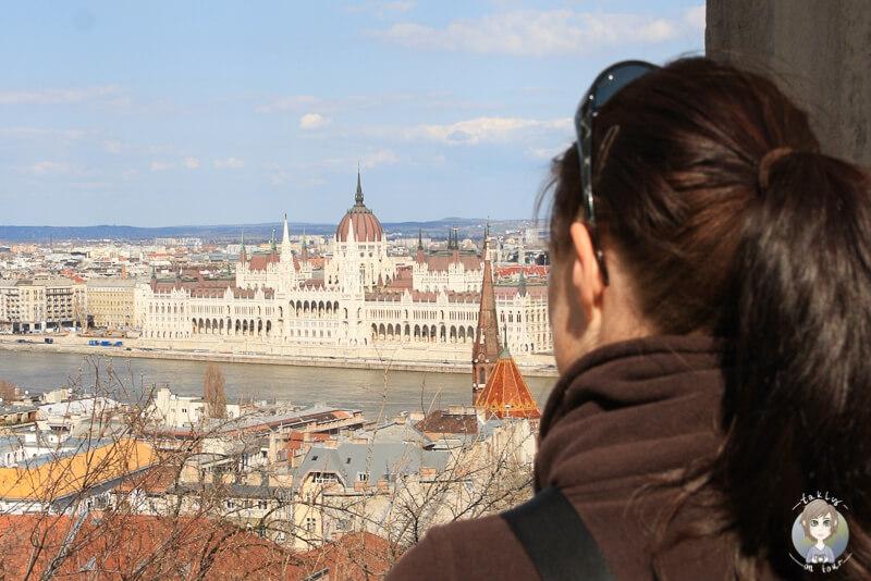 Portrait Frau Budapest