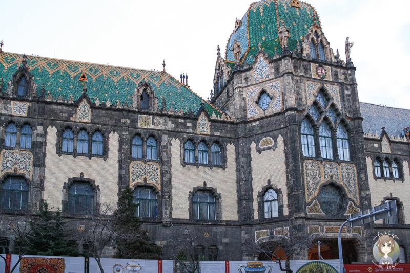 Ein sehenswertes Gebäude in Budapest