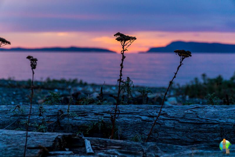 Sonnenuntergang-Kanada-Camper