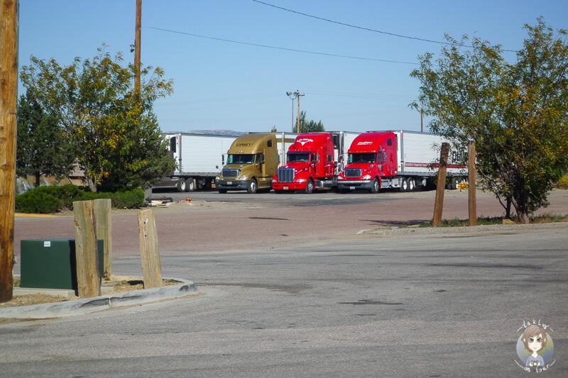 Ein Truckstop entlang der Route 66