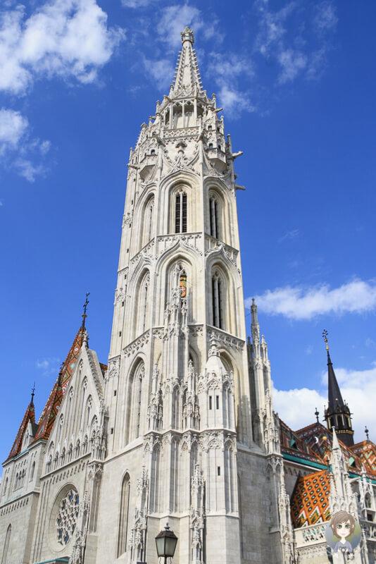 Turm Matthiaskirche Budapest