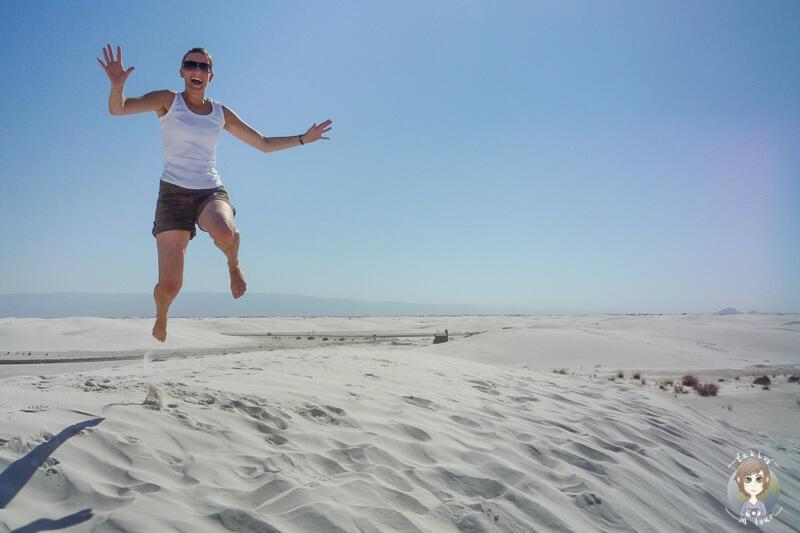 Zu Besuch im White Sands National Monument New Mexico