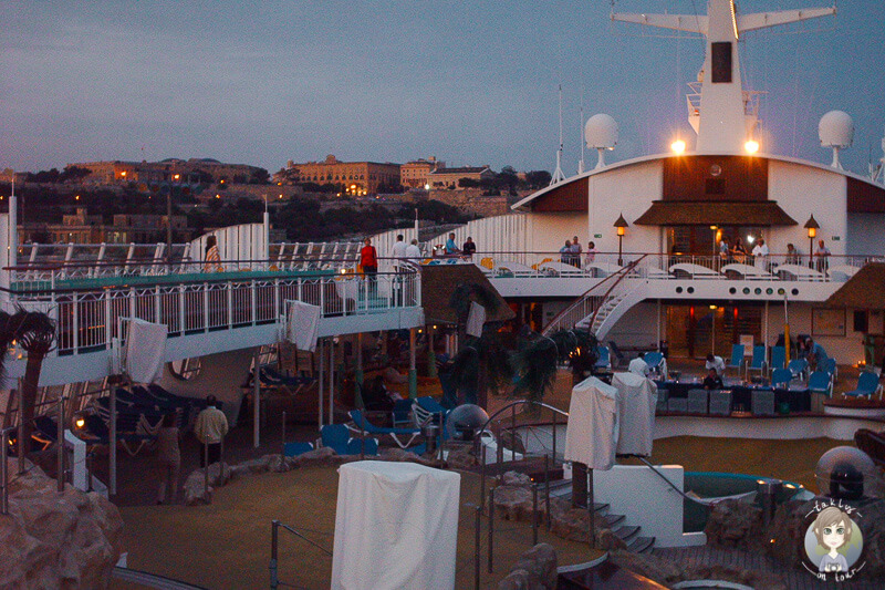 AIDA Malta Abend