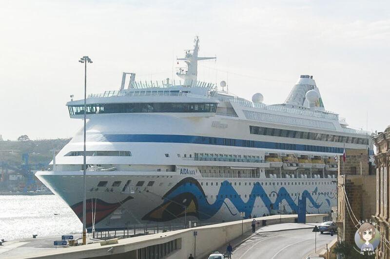 AIDA Malta Hafen