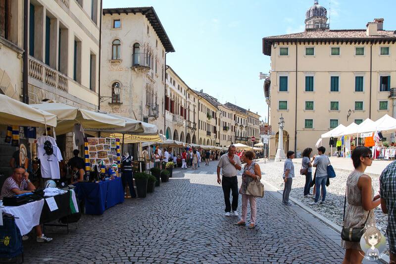 Altstadt Conegliano Italien