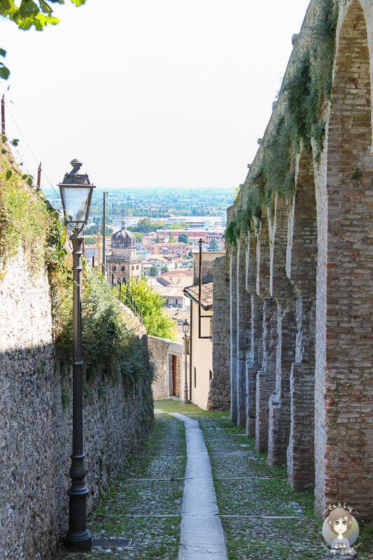 Aufstieg Castillo de Conegliano
