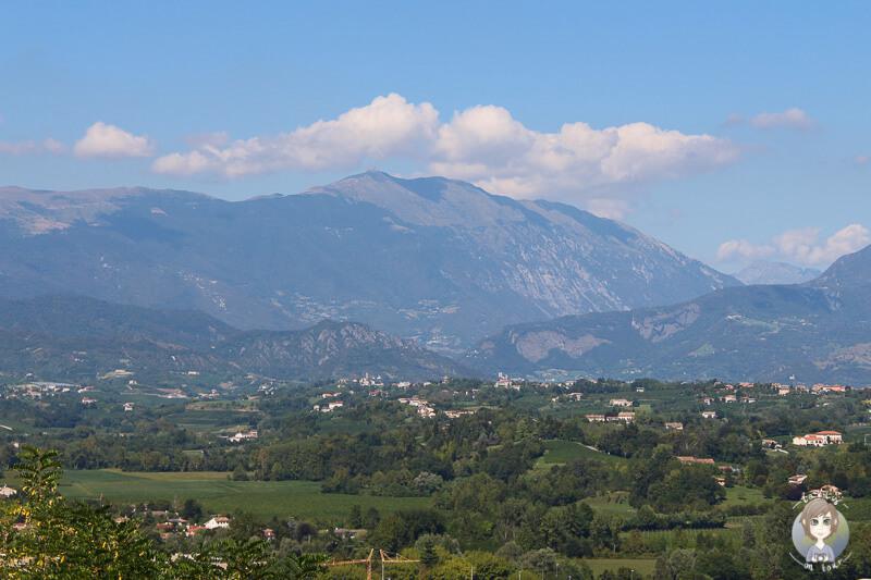 Aussicht Conegliano Umgebung