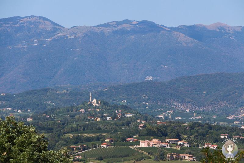 Aussicht Kirche Italien
